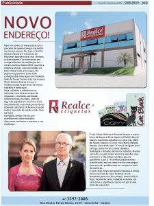Realce Etiquetas - Etiquetas para indústria têxtil - Matéria no Jornal Metas de Gaspar / SC